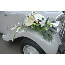 Décoration florale pour voitures