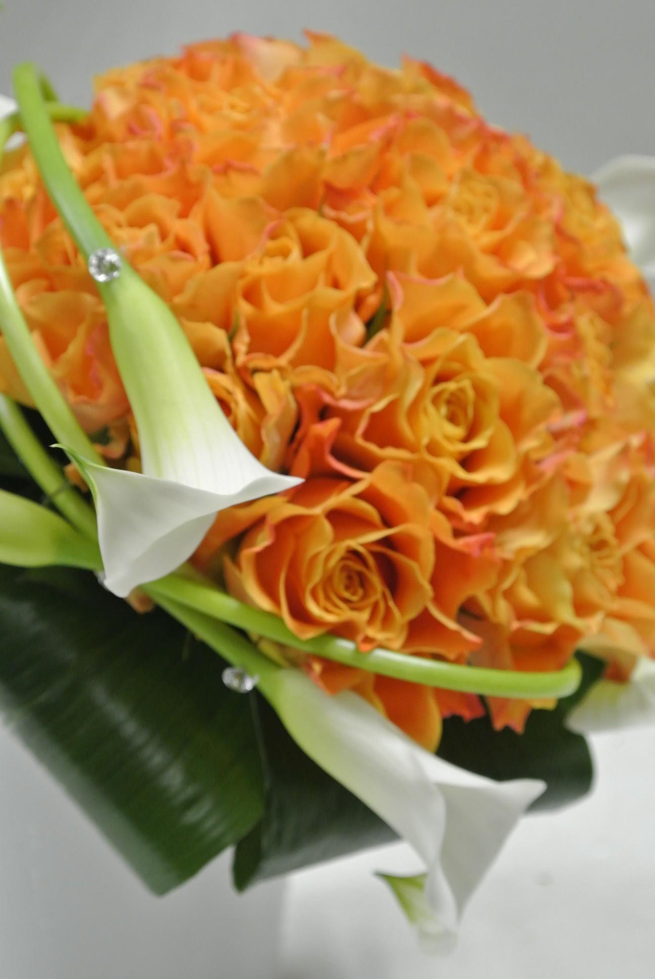 Bouquet de mariée couleurs...