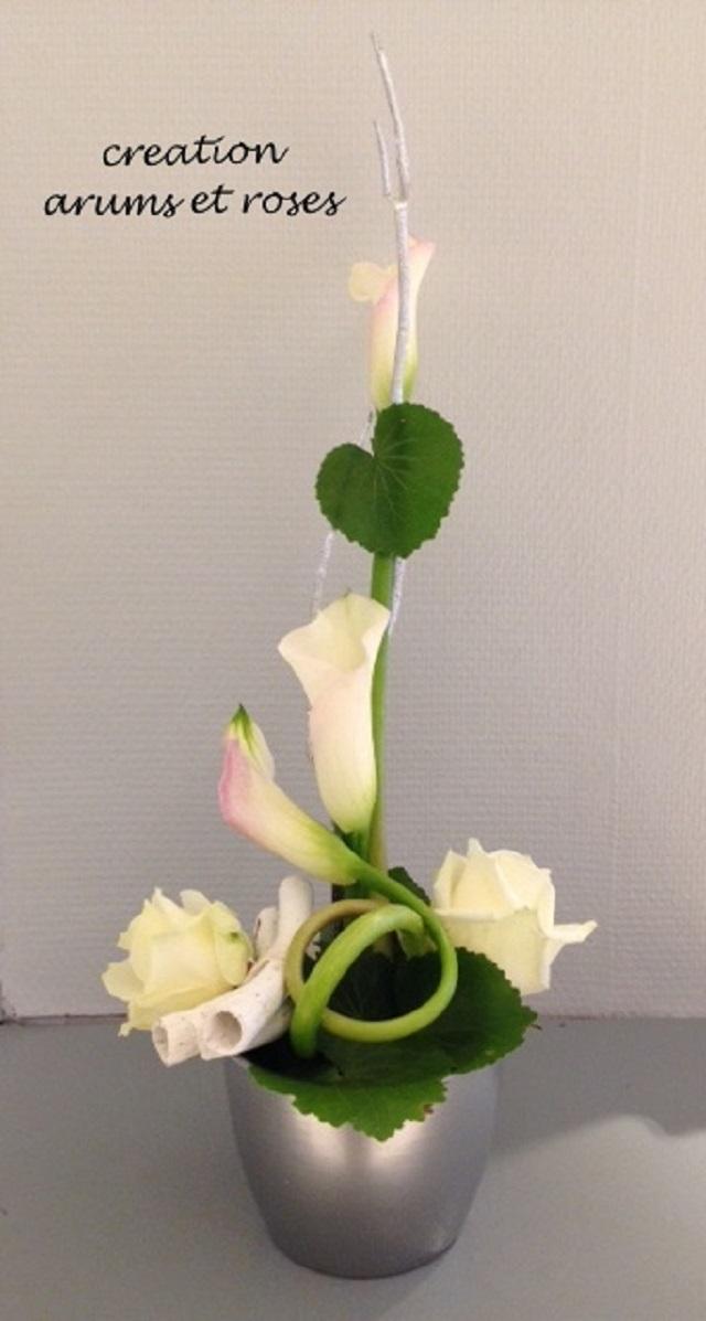 Arums et Roses